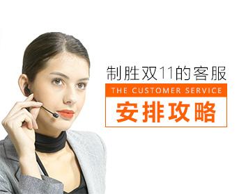 【电子商务经理】制胜双11的客服安排攻略