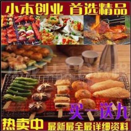 正宗新疆烤羊肉串等各种碳烤食品调料配方特色小吃羊肉串烧烤技术